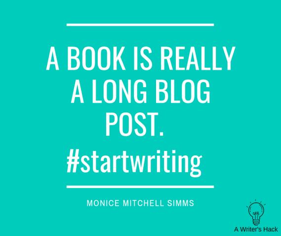 #StartWriting
